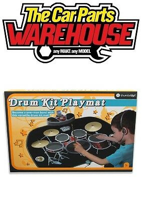 Electronic Drum Kit Playmat with Drumsticks / Mic.... MP3 Iphone Jack connection