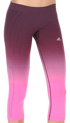 adidas adipure climalite damen 3 4 laufhose running tight. Black Bedroom Furniture Sets. Home Design Ideas