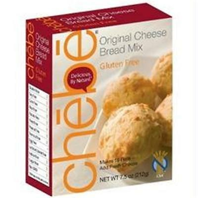Chebe B21040 Chebe Bread Original Cheese Bread Mix Gluten Free -8x7.5oz