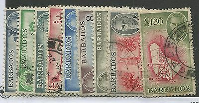 Barbados #216-223, 226 Used Vf