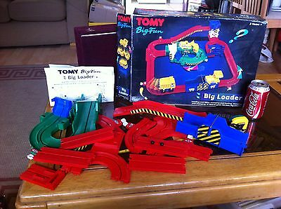 TOMY Big Loader Classic Incomplete Spares and Repair with Box & Instuctions