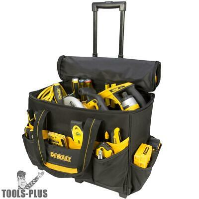 "DeWalt DGL571 18"" Lighted Roller Tool Bag New"