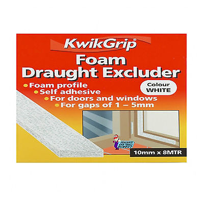 Everbuild KwikGrip Foam Draught Excluder White