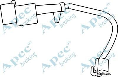 Fit with IVECO DAILY IV Fr Brake Pad Wear Sensor WIR5223 2.3L