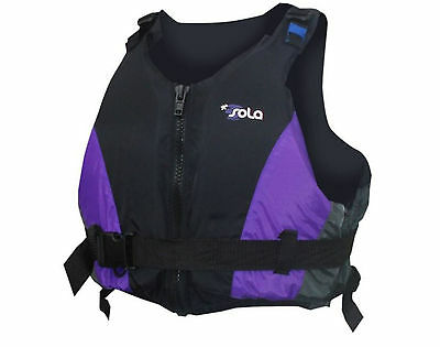 Sola Control Ladies Girls 50n Buoyancy Aid Canoe Kayak SUP Sail Boat PFD Jacket