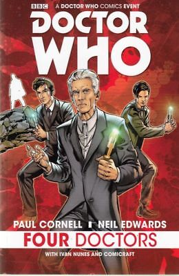 Doctor Who: Four Doctors Tpb (Titan Comics)