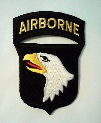 "101st Airborne Patch with Rocker   3"" x 2 1/4"""
