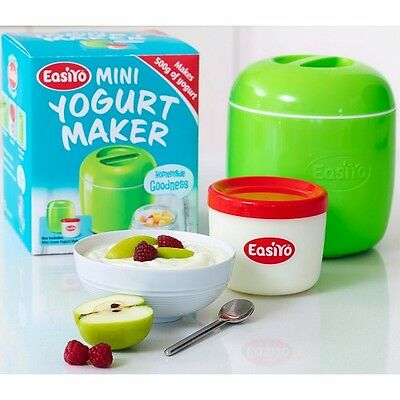 NEW Mini Yogurt Maker (500g)- Apple Green - Add other items and SAVE on Postage!