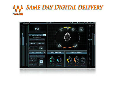 Waves Nx – Virtual Mix Room over Headphones | eDelivery Today MAKE OFFER