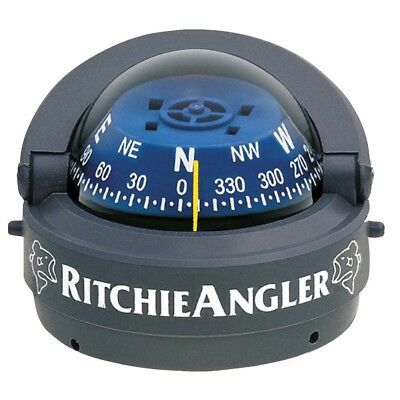 NEW Ritchie Ra-93 Ritchieangler Compass Surface Mount Gray