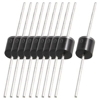 10 pcs Molded Plastic Case 1000V 10A Rectifier Diodes 10A10 CP