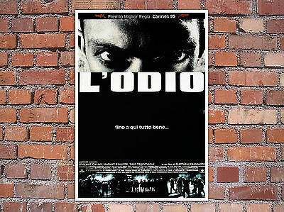 Movie Poster La Haine -  L'Odio - 35x50 cm