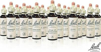 Nelsons Bach Flower 20ml Essences | All Remedies available