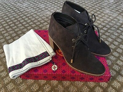 f83cff475a0 TORY BURCH HILARY Bootie Coconut Brown 9M NEW Retail  375 -  149.00 ...