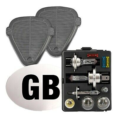 European France Travel Kit with Breathalysers Beam Deflectors