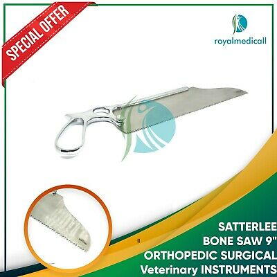 "SATTERLEE BONE SAW 9"" ORTHOPEDIC SURGICAL Veterinary INSTRUMENTS"