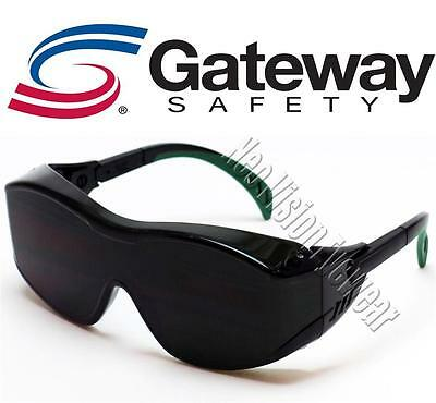 83bbd7bc39e Gateway Cover2 OTG IR5 Green Welding Fit Over Most Safety Glasses Gas Torch  Cut