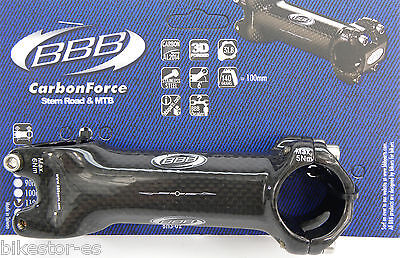 BBB CARBONFORCE 110mm 31.8 +/- 6° BHS-02  Potencia Aluminio Carbono Bike Stem