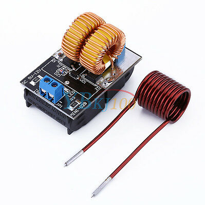Newest 5-12v ZVS induction heating power supply module tesla Jacob's ladder+coil