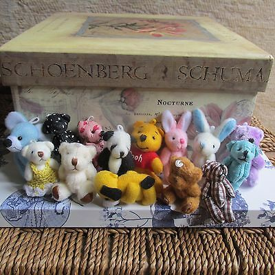 Mini Assortment Teddy Bears Wedding/Christening Party Bag/Gift/Favor/Baby Shower