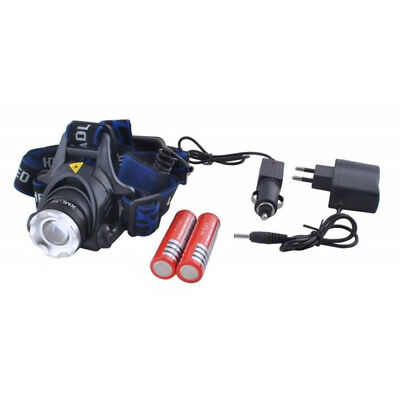 CREE LED Stirnlampe Kopflampe  Zoomable LED Headlight wiederaufladbar