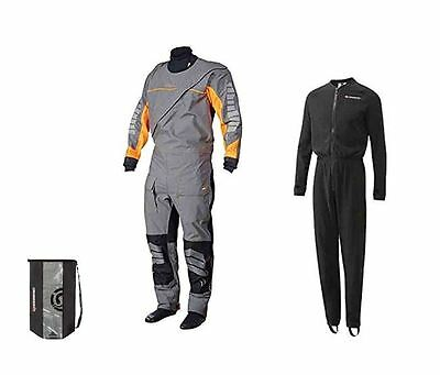 2017 Crewsaver Phase 2 Drysuit inc Fleece Undersuit & Drybag canoe kayak sailing