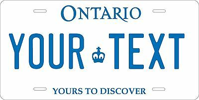 Ontario 1997 Custom Personalized Tag Novelty Vehicle Car Auto License Plate
