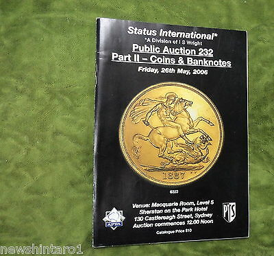 #CC5.  STATUS / I.S. WRIGHT  COINS etc  AUCTION CATALOGUE 26th May 2006