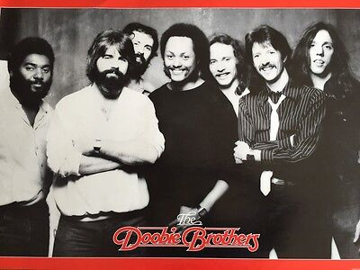 The Doobie Brothers Rare Promo Poster 1980