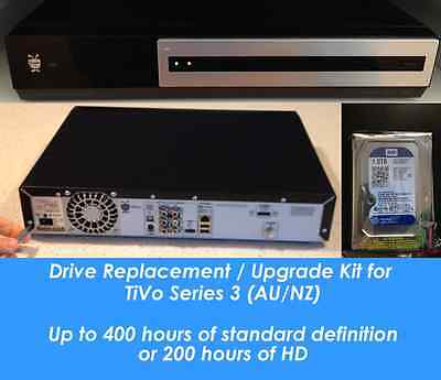 1TB TiVo AU / NZ Hard Drive Replacement Kit. Upgrade your 160/320 to 1000GB HDD
