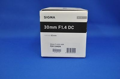 Sigma 30mm F1.4 DC HSM Art Lens for Canon Mount Japan Domestic Version New