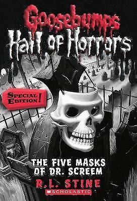 The Five Masks Of Dr. Screem (Turtleback School & Library Binding Edition) (Goos