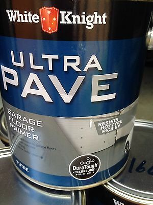 White knight Ultra Pave Paving Paint Primer Brand New 4 x 2 Litre Cans RRP $118.