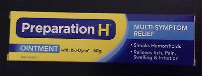 Preparation H Ointment With Bio-Dyne 50g Large Tube!