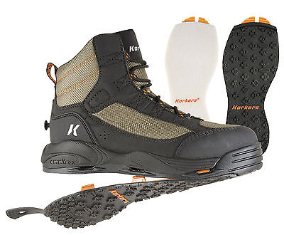 ****FREE SHIPPING***** New Korkers™ Greenback Wading Boots Mens Sizes (9-15)