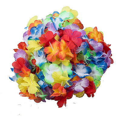 Hawaiian flower necklace 10pcs costume accessory for Party Costumes PK
