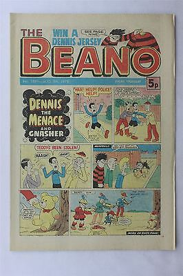 The Beano #1881 August 5th 1978 FN Vintage Comic Bronze Age Dennis The Menace