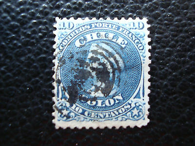 CHILI - timbre yvert et tellier n° 14 obl (A23) stamp chile