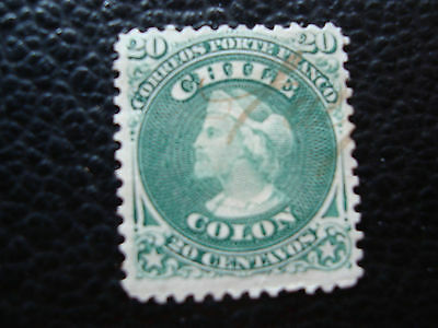 CHILI - timbre yvert et tellier n° 15 obl (A23) stamp chile