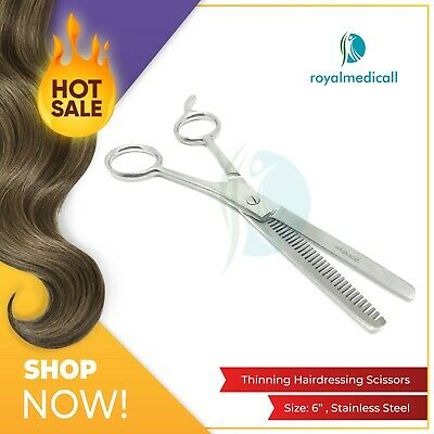 """6"""" Professional Hairdressing Scissors Hair Cutting Thinning Shears"""