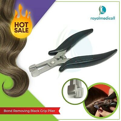New Hair Extensions and Fusion Crushing Bond Removal Pliers Straight Teeth