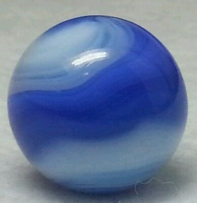 "VINTAGE AKRO AGATE PRIZE NAME MARBLE/ SWIRL MARBLES 5/8"" From Estate #228-2"