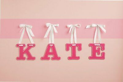 CoCaLo Mix & Match Pink Hanging Letter, Y