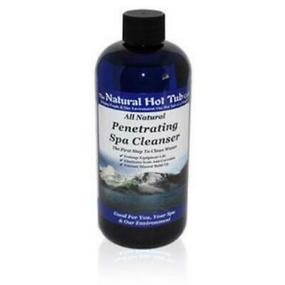 The Natural Hot Tub Company all natural water penetrating spa cleanser treatment