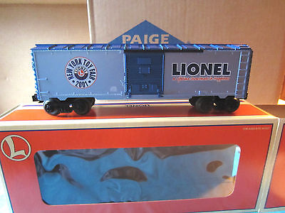 Lionel 2001 Toy Fair Boxcar # 19996 New In Original Box Never Displayed