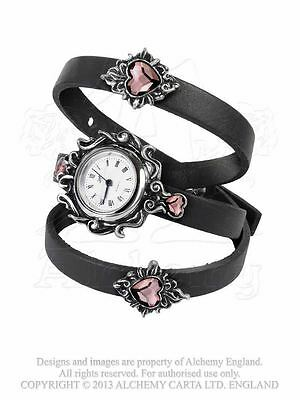Alchemy Gothic Heartfelt Pewter Watch BRAND NEW
