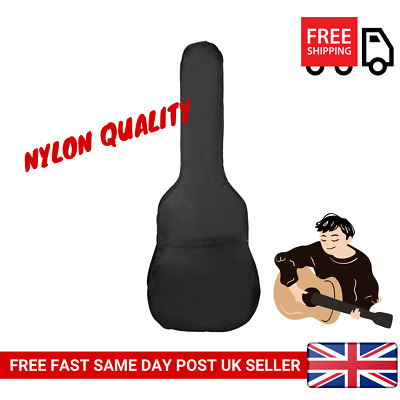 3/4 Size Acoustic and Classical Guitar Carrying Carry Case Bag Holder Sleeve UK