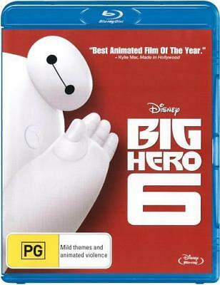 Big Hero 6 - Walt Disney Blu-ray Region B New!