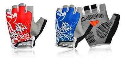 New Outdoor Bike Bicycle Breathable Sports GEL Cycling Half Finger Gloves