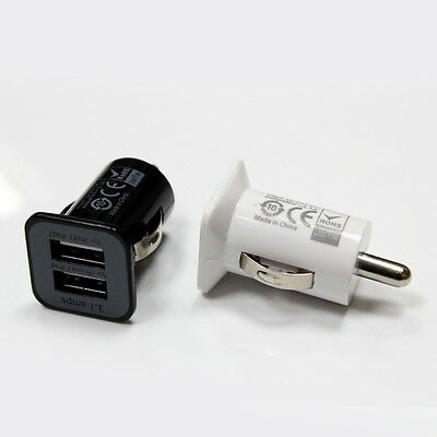 3.1 Amp USAMS Twin 2 Port USB in Car Charger for iPAD, iPHONE, SAMSUNG, HTC SONY